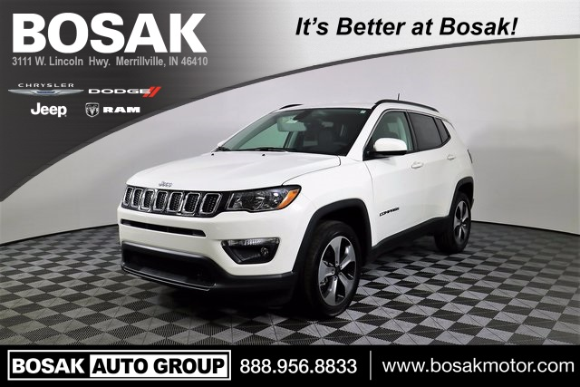 New 2018 Jeep Compass Latitude Sport Utility in Merrillville