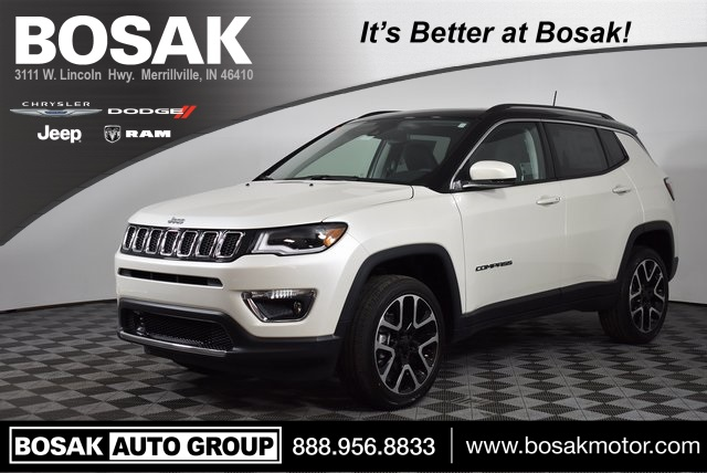 New 2018 Jeep Compass Limited Sport Utility In Merrillville M181130